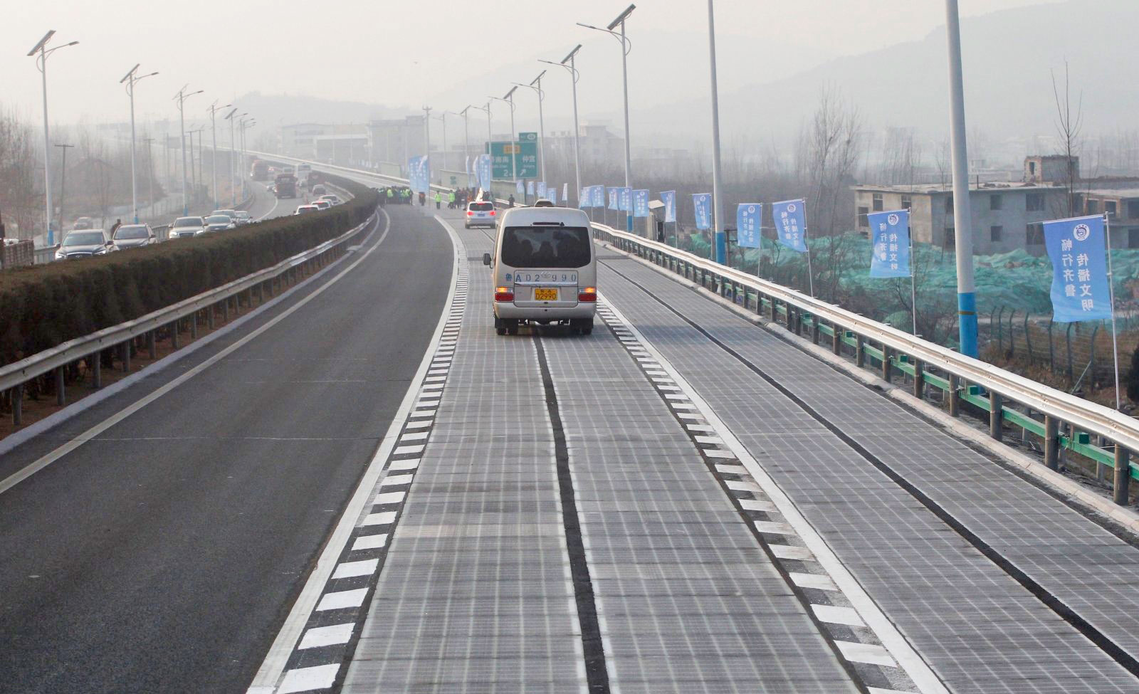 Thieves Swipe A Portion Of China S Solar Road
