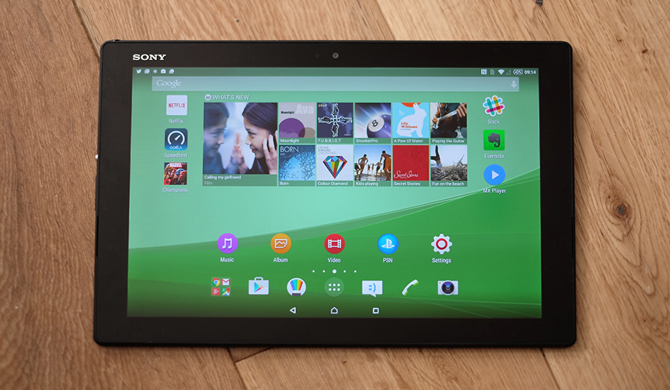Sony xperia z4 tablet review a great device saddled with a terrible image credit malvernweather Choice Image