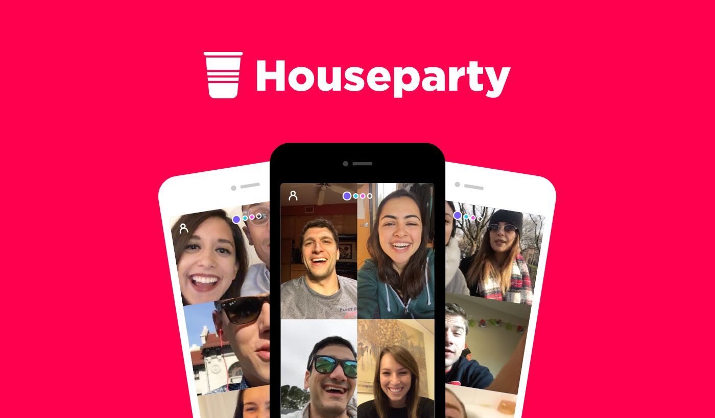 Image result for houseparty app