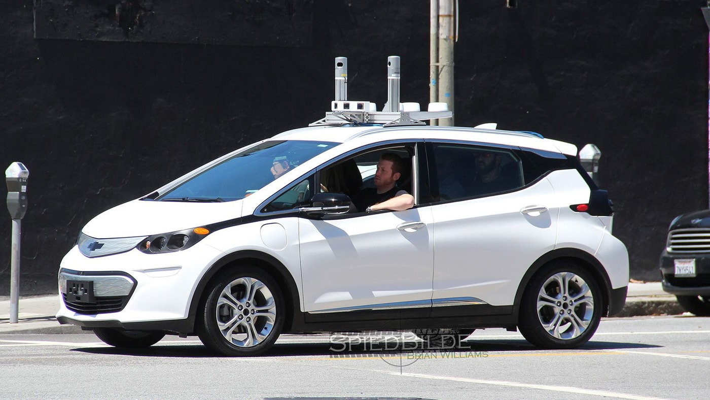 gm is already testing self driving chevy bolts. Black Bedroom Furniture Sets. Home Design Ideas