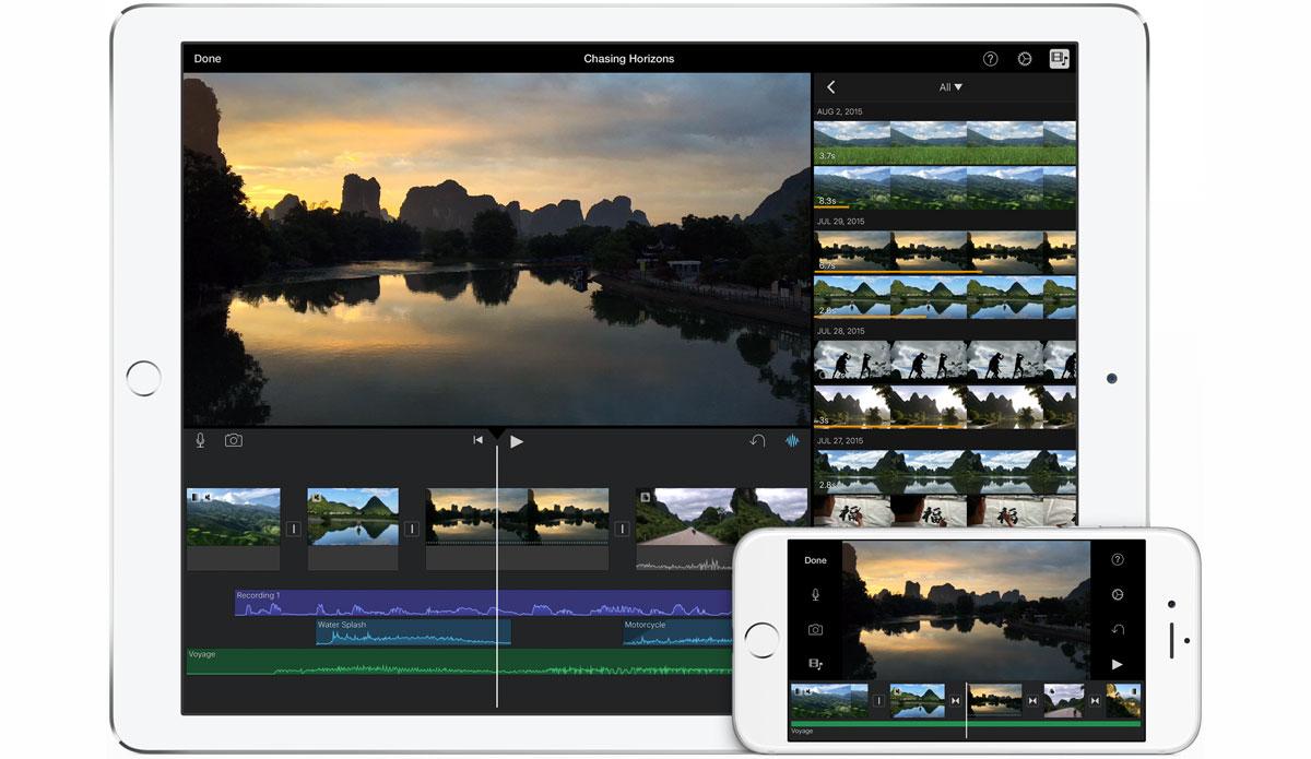 Resultado de imagen para iMovie app ios