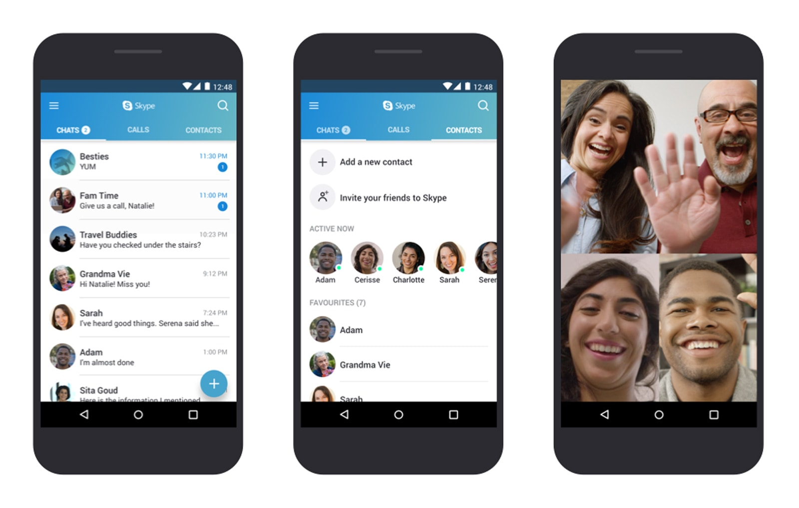 Skype is now optimized for lower end android phones microsoft stopboris Gallery