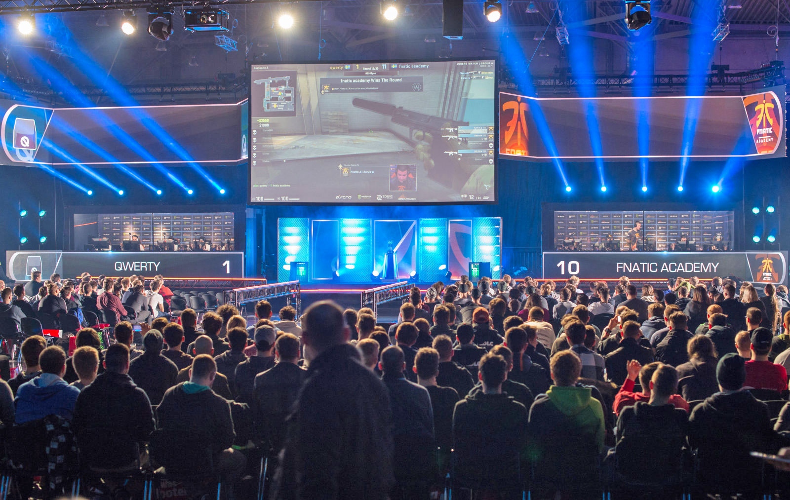 Un torneo di eSports del videogioco VALVE Counter Strike: Global Offensive, foto: Jens Schlueter/Gettyimages