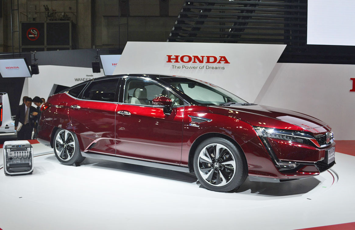 Hondas Nextgen Clarity Hydrogen Cars Land In California - About honda cars