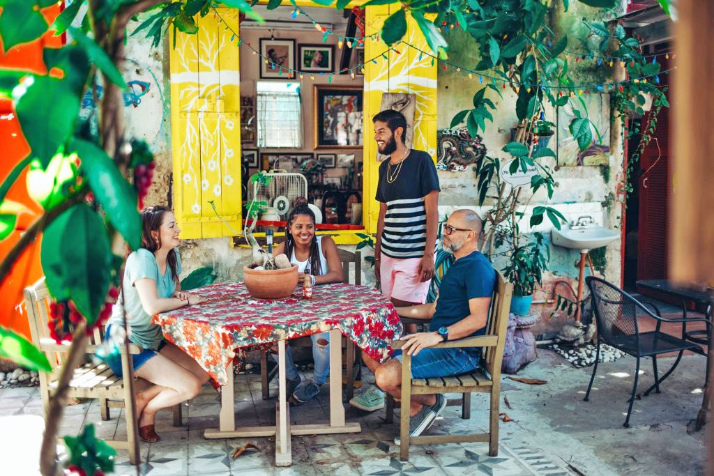 Airbnb is encouraging tourists to visit Puerto Rico