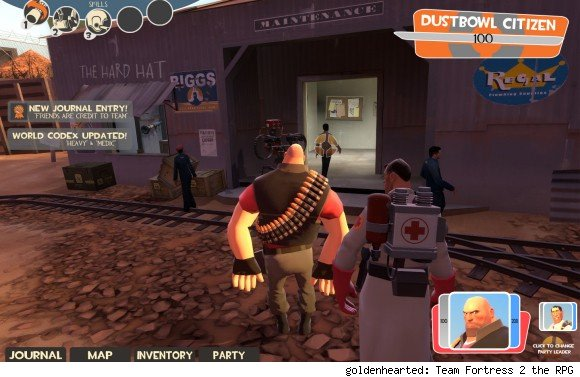 valve jokingly tips hat to mmos in latest team fortress 2 update