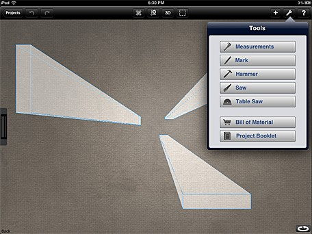 Daily ipad app woodcraft helps you design your next building project undo malvernweather Images
