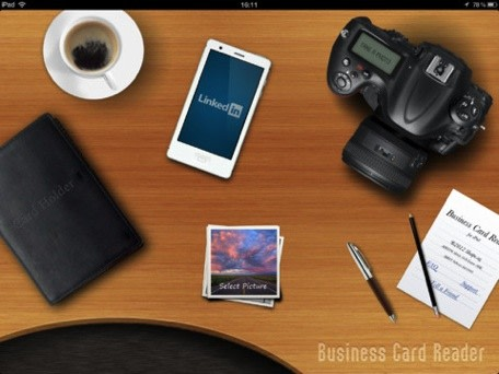Daily ipad app business card reader hd lets you scan business cards shape services has an ipad version of its business card reader app thatll make it easy for you to manage your business cards right on your tablet reheart Choice Image