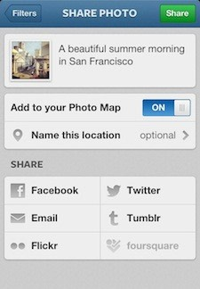 Instagram 3s new photo maps feature adds location to your photo stories instagram 30 the free photo sharing app for iphone is available and provides a number of enhancements the most impressive is the new photo maps feature ccuart Choice Image