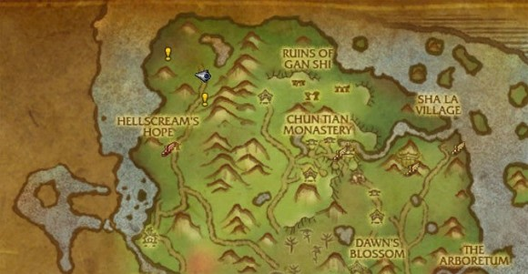 World map quest markers are good news for loremasters in mists of image credit gumiabroncs Images