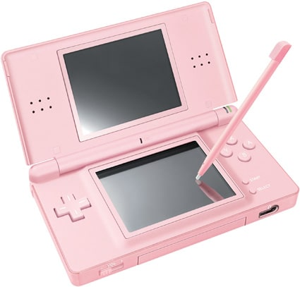 nintendo launches onyx and coral pink ds lites. Black Bedroom Furniture Sets. Home Design Ideas