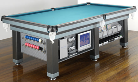 Heiron Smiths Executive Pool Table Sports LCD PS - Electronic pool table