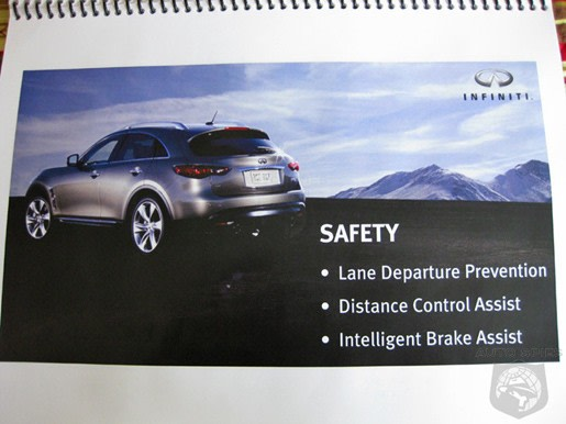 2009 Infiniti Fx35 Fx50 To Include Distance Control Assist