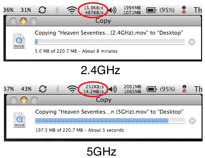 how to set up 5ghz wireless