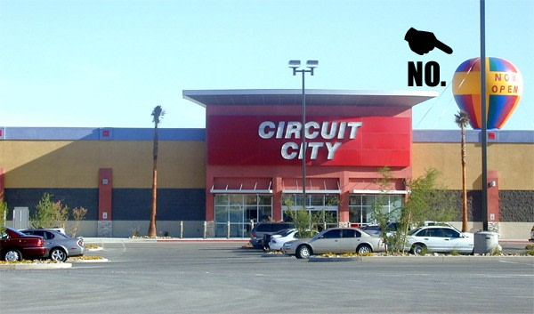 Is Snapping Up Leftovers From A Now Defunct National Consumer Electronics Retailer As Part Of The Post Bankruptcy Proceedings Circuit City Stores