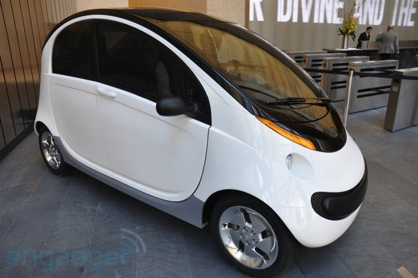 Peapod The Friendly Neighborhood Electric Vehicle In The Flesh With