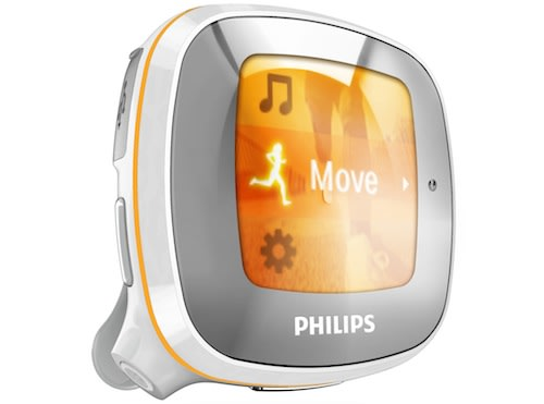 philips activa fitness mp3 player reminds you to move. Black Bedroom Furniture Sets. Home Design Ideas