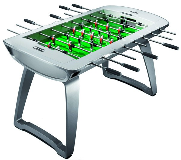 Audis Foosball Table Still Costs Less Than Its Cars But Not By Much - How much does a foosball table cost
