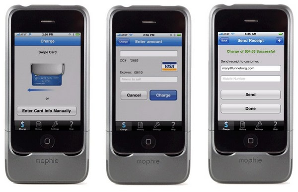 mophie and intuit partner to create complete card solution for