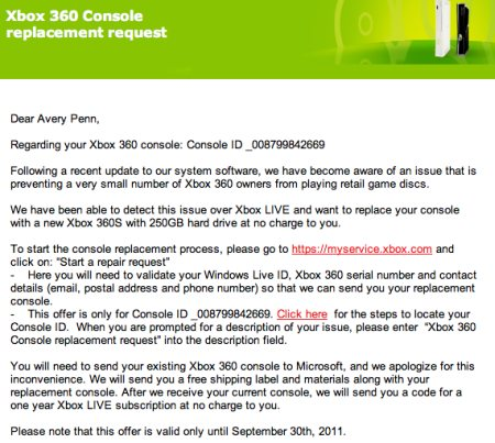 there may have been a good reason for that wide beta test microsoft ran to test out its new disc format for the xbox 360 while it will allow for an extra