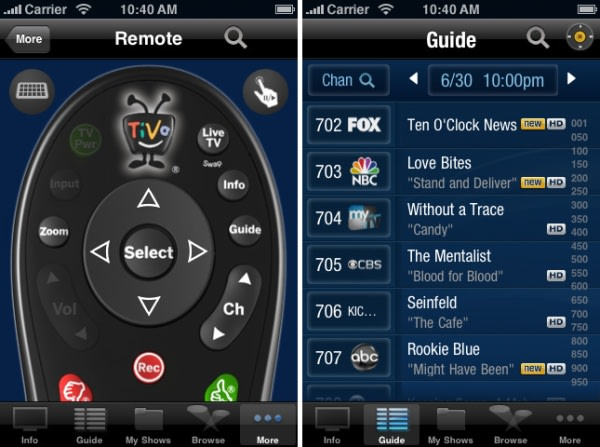 Tivo Remote App Iphone