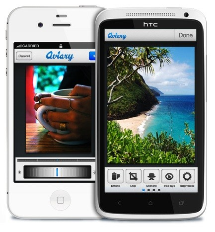 aviary launches photo editing application on ios turns android