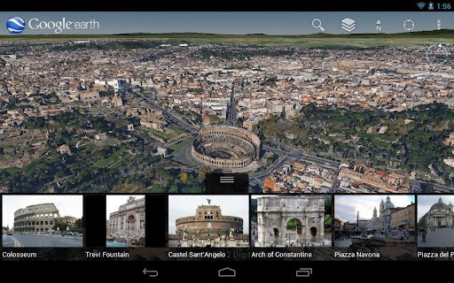 Google earth 70 for android brings new super detailed 3d maps for image credit gumiabroncs Choice Image