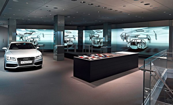 audi dealership lets you gesticulate your way to a new car using