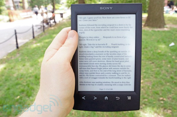 Sony reader prs t2 review same old e reader new and mostly image credit fandeluxe Image collections