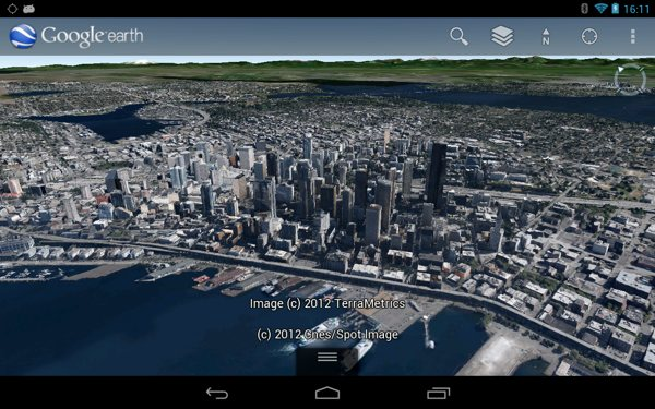 Google Earth Adds Detailed D Imagery For Denver And Seattle - Google earth online map 3d