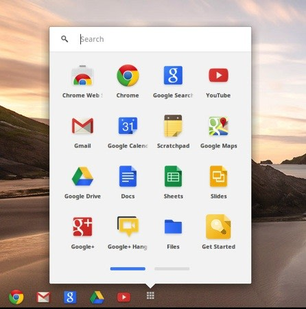 how to put apps on chromebook desktop