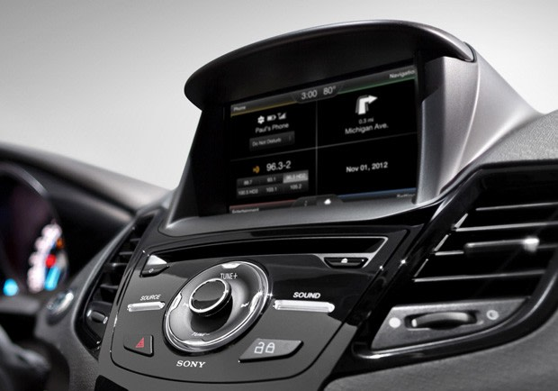 ford fiesta  myford touch smarter sync voice