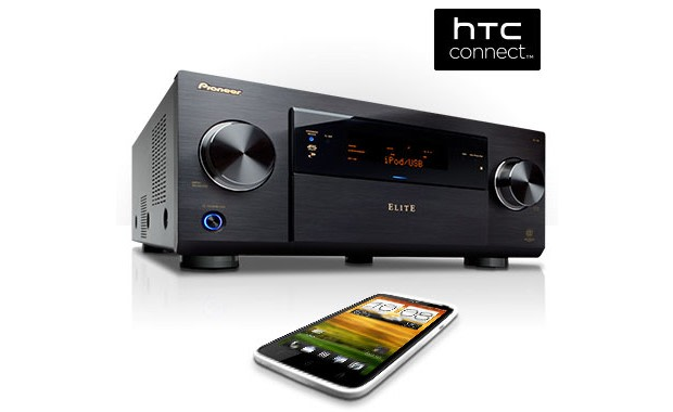 Firmware updates for Pioneer AV receivers add HTC Connect music ...