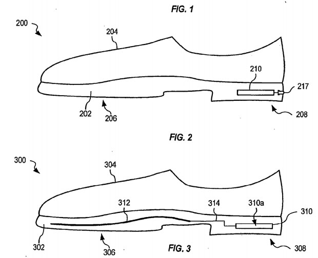 Apple Applies For Shoe Life Sensor Patent Puts It In
