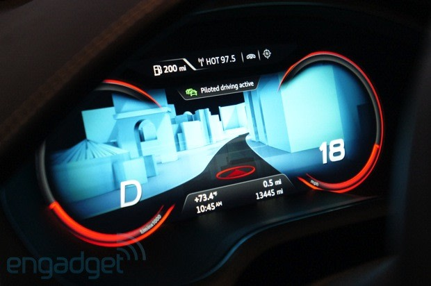 Audi Shows Off Piloted Driving Video - Audi piloted driving