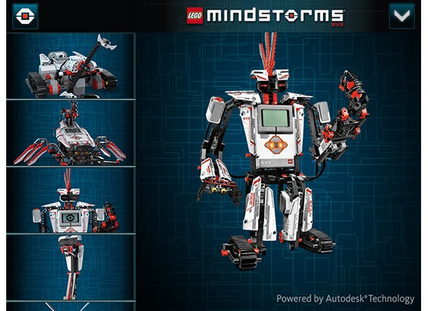 Autodesk Partners With Lego To Create 3d Interactive Mindstorm Ev3