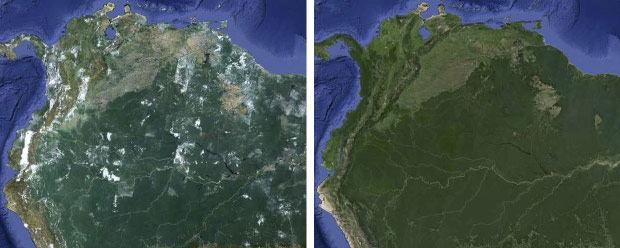 Google refreshes maps and earth with 800000 megapixels of new image credit sciox Images