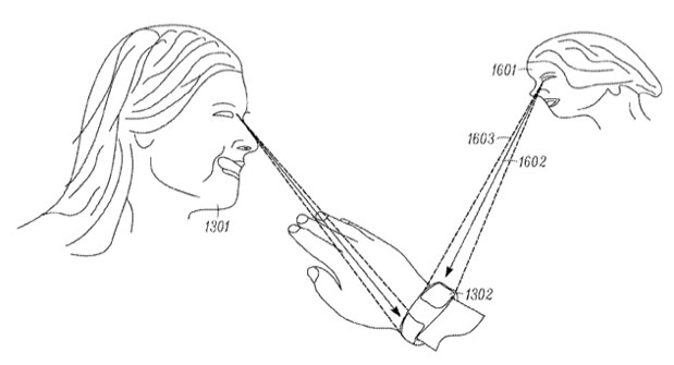 Motorola files patent application for a gaze-detecting