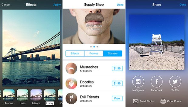 aviary gets an ios 7 redesign and a new shop comes in more languages