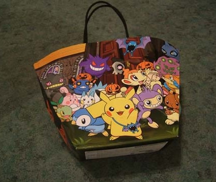 brian ashcraft from kotaku showed off this trick or treat bag from the pokmon center in osaka
