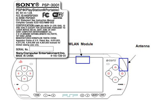 PSP-3001 unmasked by FCC, good parts remain veiled