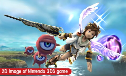 From The Moment You Pick Up Game Masahiro Sakurais Influence Is Immediately Evident Like Smash Bros Brawl Before It Kid Icarus Manages To Be
