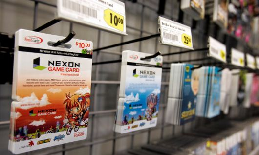Nexon america 39 s pre paid card empire for Nexon client