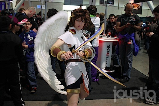 Normally We Wouldnt Post About A Single Cosplayer Found At PAX East Much Less One There Publishers Request However This Kid Icarus Uprising Pit