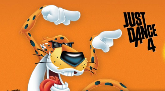 it s easier for chester cheetah to be cheesy in just dance 4