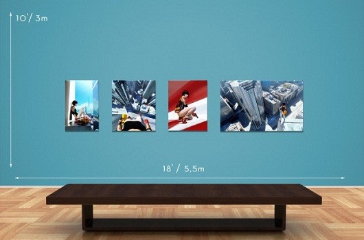 Mirror\'s Edge, Mass Effect limited edition art prints for sale now