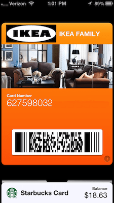 making your own passbook store loyalty cards with passkit. Black Bedroom Furniture Sets. Home Design Ideas