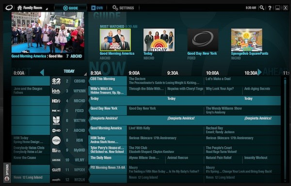 TV Guide, TV On Demand and TV to GO | Optimum