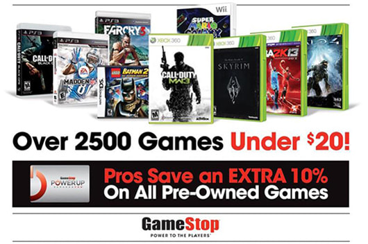 Trade in your used video games, phones, tablets and accessories at GameStop and receive cash or credit towards more games, consoles, electronics and gear!