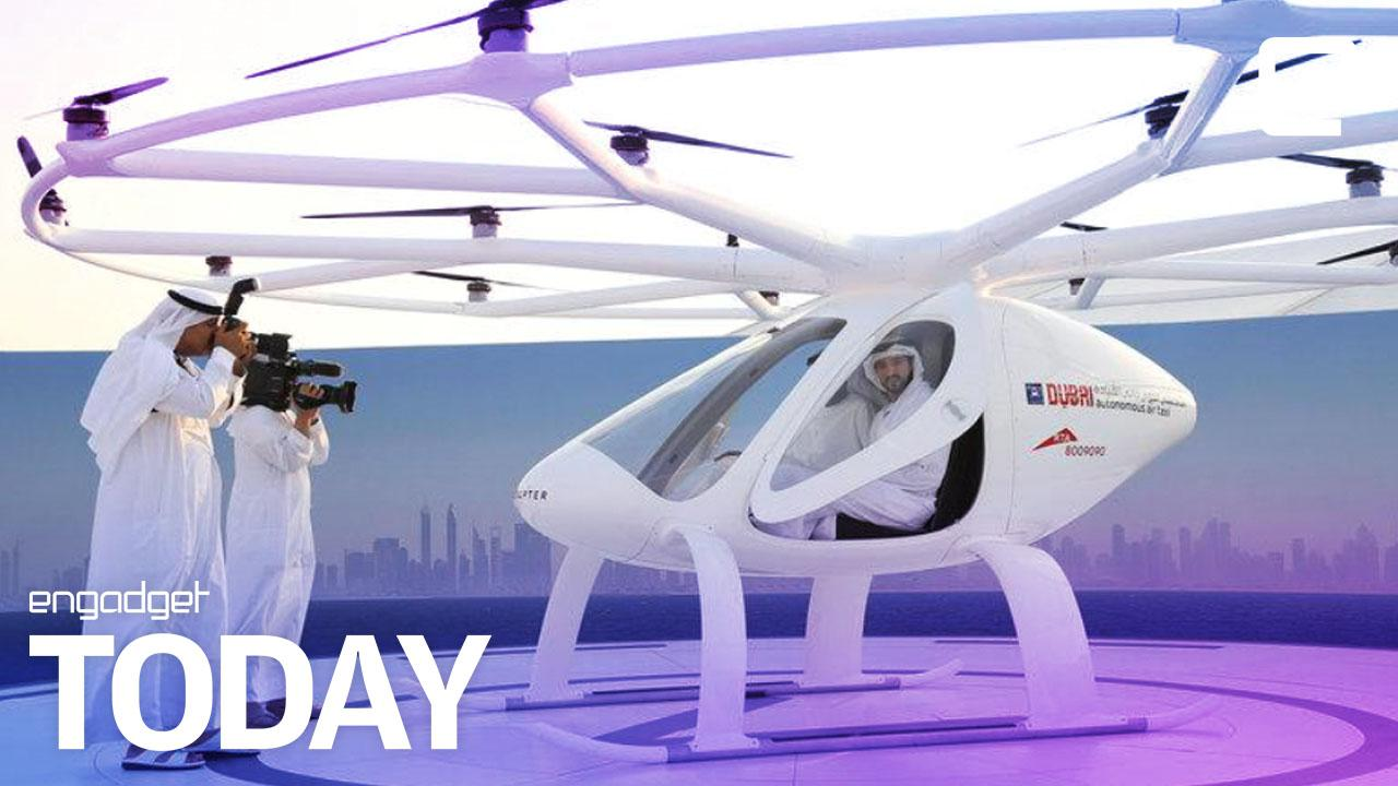 Dubai Tests A Passenger Drone For Its Flying Taxi Service - 26 amazing photos that will make you want to visit dubai